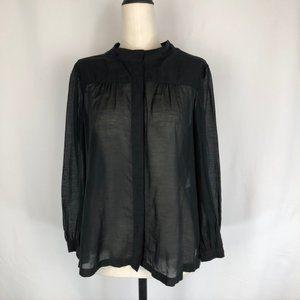Dries Van Noten Cotton/Silk Sheer Shirt
